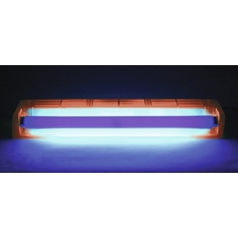 EUROLITE UV tube complete fixture 45cm 15W ABS red #2