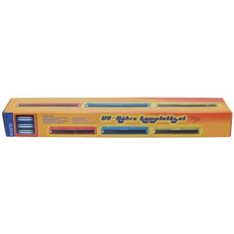 EUROLITE UV tube complete fixture 45cm 15W ABS red #3