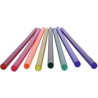 EUROLITE Orange Color Filter 149cm f.T8 neon tube