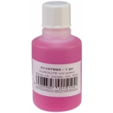 EUROLITE UV-active Stamp Ink, transparent red, 50ml