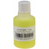 EUROLITE UV-active Stamp Ink, transparent yellow, 50ml