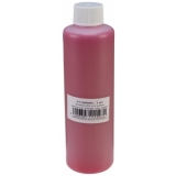 EUROLITE UV-active Stamp Ink, transparent red, 250ml