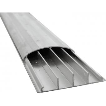 EUROLITE Floor Cable Channel 75mm silver 2m #2