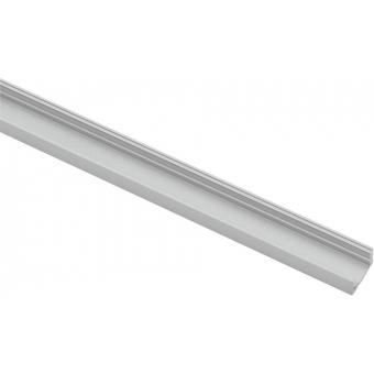 EUROLITE U-profile for LED Strip silver 4m