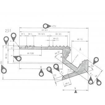 EUROLITE Step Profile for LED Strip silber 4m #10