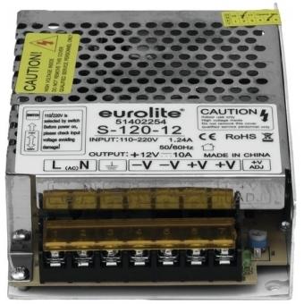 EUROLITE Electr. LED Transformer, 12V, 10A #3