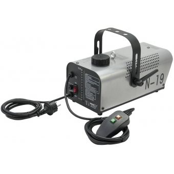 EUROLITE N-19 Smoke Machine silver #3