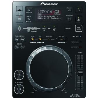 Pioneer CDJ 350 Black - (Digital Multimedia Deck + Rekordbox Support)