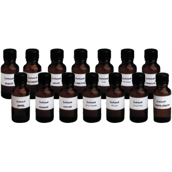 EUROLITE Fog Fragrance Set with all 14 Types #2