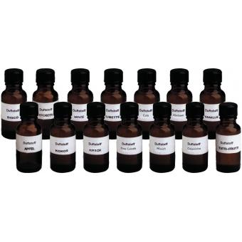EUROLITE Fog Fragrance Set with all 14 Types