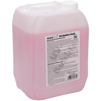 EUROLITE UV Bubble Fluid 5l red #1