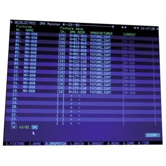 FUTURELIGHT DMD-512 DMX Monitor Driver #8