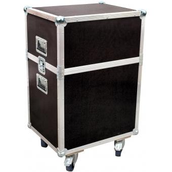 ROADINGER Flightcase 2x DJ-Scan 600