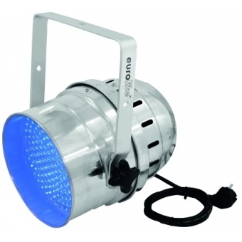 EUROLITE LED PAR-64 UV 10mm Short silver