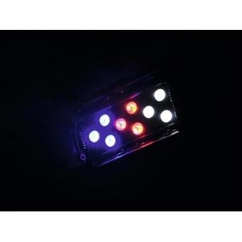 EUROLITE LED CLS-9 QCL RGBW 9x8W 12° #10