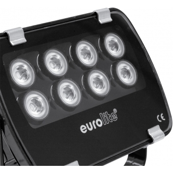 EUROLITE LED IP FL-8 red 60° #10
