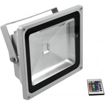 EUROLITE LED IP FL-50 COB RGB 120° RC