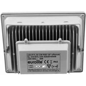 EUROLITE LED IP FL-50 COB RGB 120° RC #3