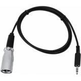 EUROLITE DMX-Adapter IN Jack 3,5/XLR 1m