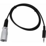 EUROLITE DMX-Adapter IN Jack 3,5/XLR 1m