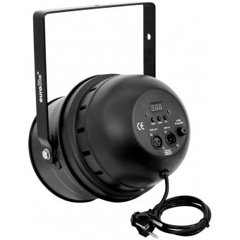 EUROLITE LED PAR-64 RGBA 10mm Short black #3