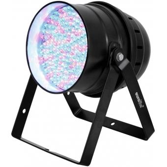 EUROLITE LED PAR-64 RGBA 10mm Floor black #4