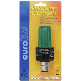 EUROLITE LED Strobe B-22 green #2