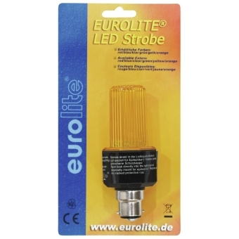 EUROLITE LED Strobe B-22 yellow #2