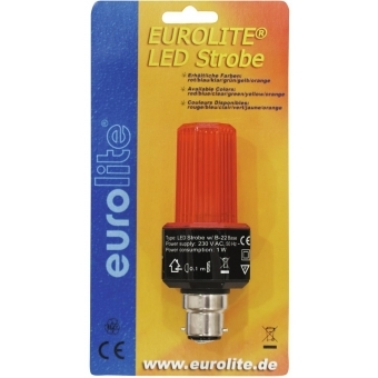 EUROLITE LED Strobe B-22 orange #2