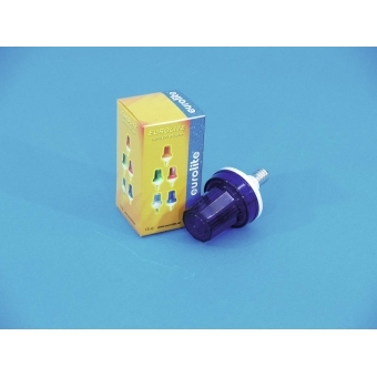 EUROLITE Strobe with E-14 base, blue