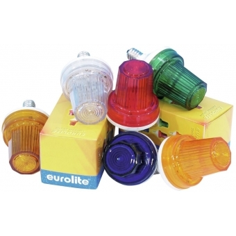 EUROLITE Strobe with E-14 base, yellow #4