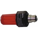 EUROLITE Strobe with B-22 base, red