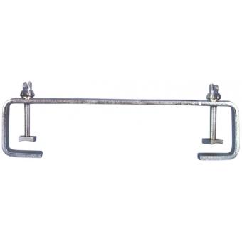 EUROLITE TCH-50/30 C-Clamp 30cm, silver #2