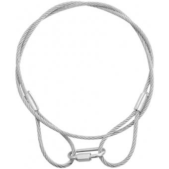 EUROLITE Steel Rope 900x4mm silver