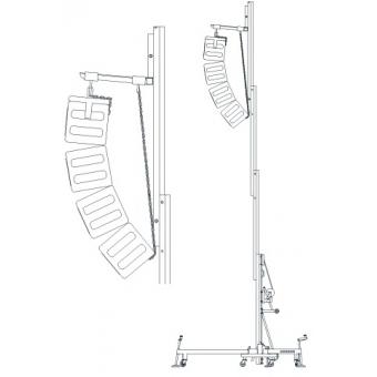 GUIL ULK-650 Load lifter 250kg 6.5m 60mm #6