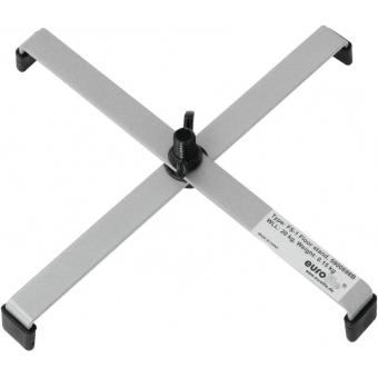 EUROLITE FS-2 Floorstand, Steel,silver