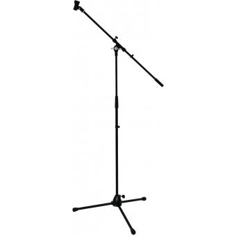 OMNITRONIC Microphone Tripod with Boom, PRO bk