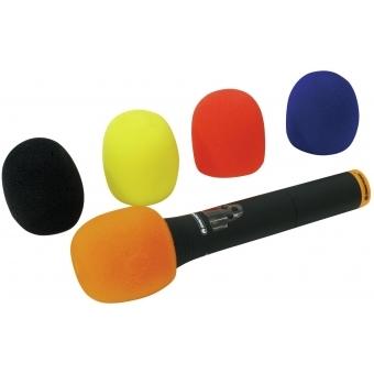 OMNITRONIC Microphone Windshield Set, 5 colors #2