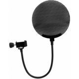 OMNITRONIC Microphone-Pop Filter metal, black