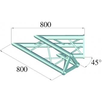 ALUTRUSS TRISYSTEM PAC-19 corner 2-way 45° #2