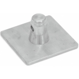ALUTRUSS SINGLELOCK Base Plate SBPM (square) MALE