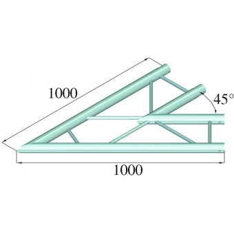 ALUTRUSS BILOCK BQ2-PAC19H 2-way Corner 45° #2