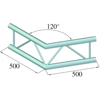 ALUTRUSS BILOCK BQ2-PAC22V 2-way Corner 120° #2