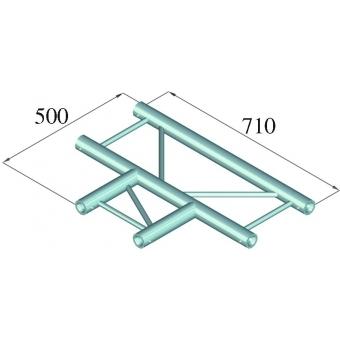 ALUTRUSS BILOCK BQ2-PAT35H 3-way T-Piece 90° #2