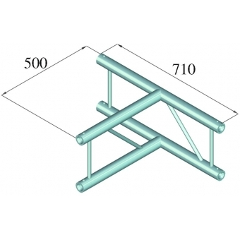 ALUTRUSS BILOCK BQ2-PAT36V 3-way T-Piece 90° #2
