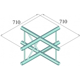 ALUTRUSS BILOCK BQ2-PAC41V 4-way Cross Piece #2
