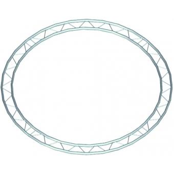 ALUTRUSS BILOCK Element f.Circle 2m ins. hori.90°