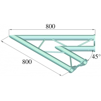 ALUTRUSS BISYSTEM PH-19 2-way 45° horizontal #2