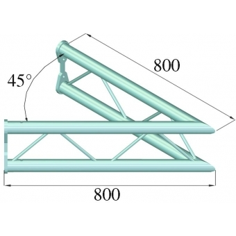 ALUTRUSS BISYSTEM PV-19 2-way 45° vertical #2