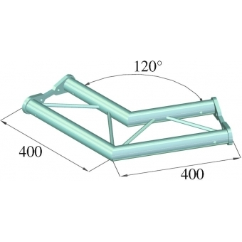 ALUTRUSS BISYSTEM PH-22 2-way 120° horizontal #2
